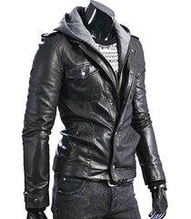handmade men slim fit leather jacket, mens leather jacket, leather jacket mens