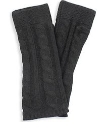 cashmere chunky arm warmers