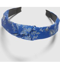 lane bryant women's knotted headband - blue floral no lbh20231 irregularvi