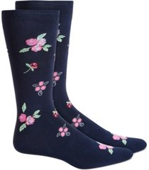 bar iii men's floral socks, created for macy's