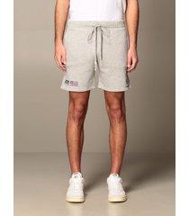 autry short capsule open autry shorts in stretch cotton