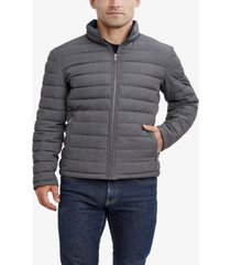nautica men's big and tall stretch reversible jacket