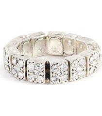 'baptista' swarovski crystal rhinestone ring
