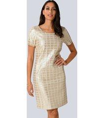 jurk alba moda goudkleur