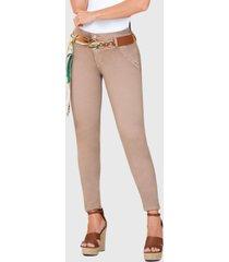 jeans colombiano control abdomen beige bartolomeo