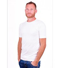 alan red t-shirt ottawa white ( two pack) ( stretch ) extra long