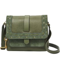 fossil women's kinley small crossbody over the top