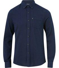 skjorta clive herringbone shirt