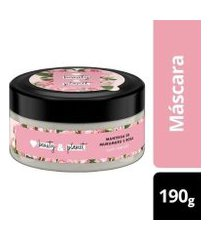 máscara de tratamento curls intensify manteiga de murumuru & rosa love beauty and planet pote 190g