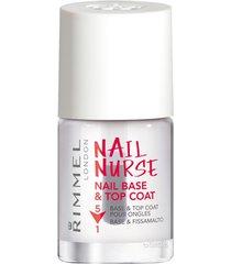 manicure set rimmel london nail nurse nail base top jas 5 in 1