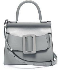 'karl 24' buckled leather satchel