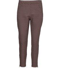 angelie 700 zip pantalon met rechte pijpen multi/patroon fiveunits