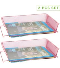 mind reader 2 piece stackable paper tray
