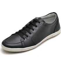 sapatenis casual esporte fino jna shoes preto - preto - masculino - dafiti