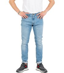 luke light medium denim jeans