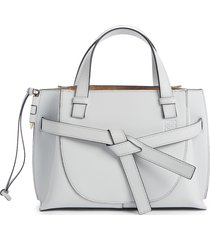 loewe mini gate leather tote - beige