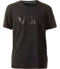 t-shirt korte mouw vans ap m flying vs tee vn0004yiblk