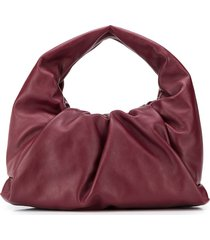 bottega veneta the shoulder pouch bag - red