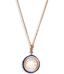 knotty crystal vessel pendant necklace in sapphire at nordstrom