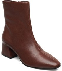 alice shoes boots ankle boots ankle boots with heel brun vagabond