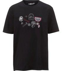 t-shirt men plus zwart