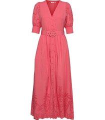 vanessa dress maxiklänning festklänning rosa notes du nord