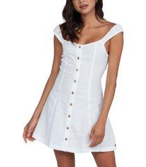 roxy juniors' think again cotton mini dress