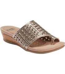 earth women's pisa wellfleet toe ring sandal women's shoes