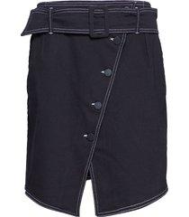 2nd agnes knälång kjol svart 2ndday