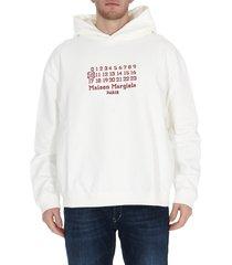 maison margiela logo hoodie