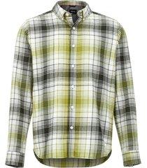 camisa harkins lightweight flannel verde marmot
