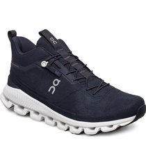 cloud hi shoes sport shoes running shoes blå on