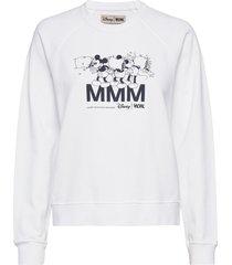 jerri sweatshirt sweat-shirt tröja vit wood wood