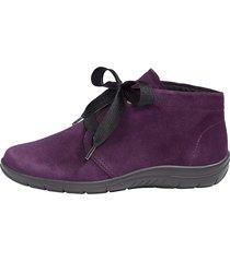skor av mjukt skinn naturläufer lila
