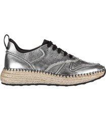 scarpe sneakers donna in pelle gomma run 29a