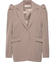 maddy blazers casual blazers beige custommade