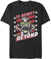 fifth sun men's infinity stars short sleeve crew t-shirt