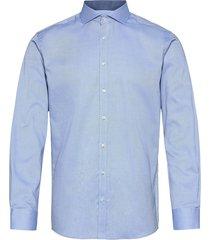 bs ash skjorta business blå bruun & stengade