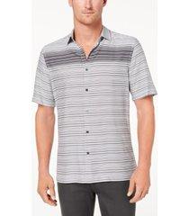 alfani men's gradient stripe shirt, created for macy's