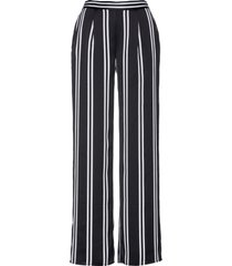 pantaloni larghi fantasia (nero) - bpc selection