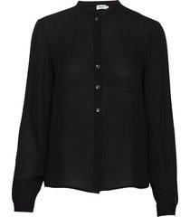 adele blouse blus långärmad svart filippa k