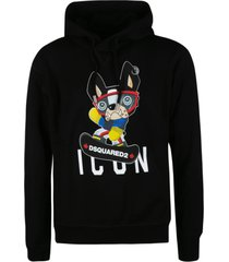 dsquared2 puppy icon logo hoodie