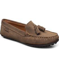 tassel driving loafer sde wmn loafers låga skor brun marstrand