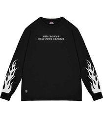 camiseta cuervo bad choice - longa preto - preto - dafiti