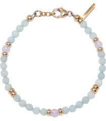 the capri collection - amazonite and amethyst lavender
