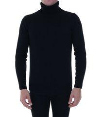 roberto collina wool pullover black