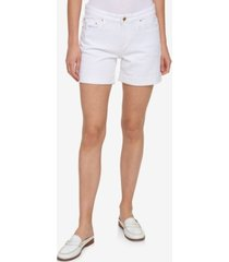 tommy hilfiger cuffed bermuda shorts, created for macy's