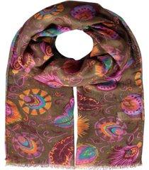 plumage women's scarf