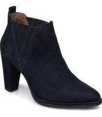 m-4404 shoes boots ankle boots ankle boot - heel blå wonders
