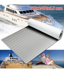 hoja 600x2400x6.5mm marina suelos imitación de teca espuma de eva del barco plataforma - no especificado
